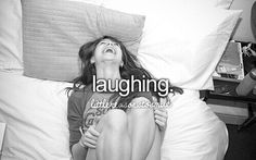 Laughing is so healing