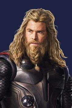 "Thor in new promotional art for ""Avengers: Endgame"" Marvel Fan, Marvel Heroes, Marvel Avengers, Marvel Comics, Chris Hemsworth Thor, Men In Black, Marvel Films, Marvel Characters, Chris Evans"