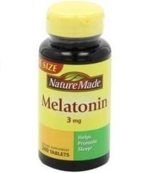Anxiety & Fear; Dogs ~ Nature Made Melatonin does NOT contain Xylitol ~ Melatonin dosages for dogs are as follows: 0-30 lb dog – 1.5 mg 31-99 lb dog – 3 mg 100+ lbs – 6 mg ~ To be administered up to 3 times a day at 8 hr intervals. Do not exceed these amounts. Consult with a vet before giving Melatonin to your dog for recommend dosage for your pet depending on their medical history.