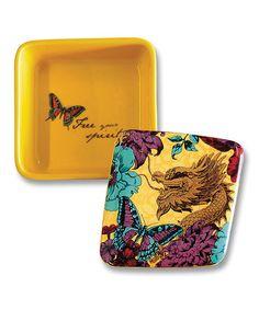 Loving this Gold 'Free Your Spirit' Dragon Keepsake Box on #zulily! #zulilyfinds