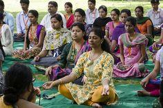 International Yoga Day at Vee Technologies 2015