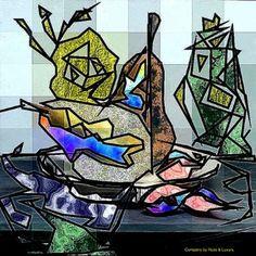 "Saatchi Art Artist Igor Bajenov; Collage, ""Avantgarde is still contemporary - Original ..."" #art"