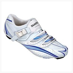 Shimano Women's Pro Tour Road Cycling Shoes - SH-WR61 (White/Blue - 37) (*Partner Link)