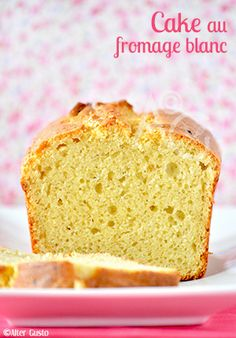 Alter Gusto | Cake au fromage blanc - Best Butter, Un Cake, Cake Blog, Looks Yummy, Beignets, Creative Food, Vanilla Cake, Biscuits, Banana Bread