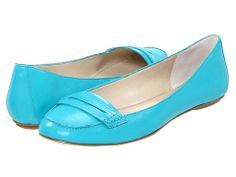Nine West OpenSesame Turquoise Leather - Zappos.com Free Shipping BOTH Ways
