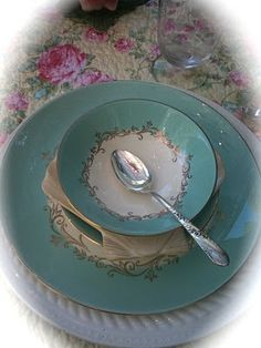 french country dish set -