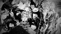 FLCL, Code Geass: Lelouch of the Rebellion R2, Naruto, Samurai Champloo, Trigun, Gurren Lagann, Rurouni Kenshin: Trust & Betrayal, anime, fan-art, manga, FLCL, Fullmetal Alchemist, Death Note, Cowboy Bebop, Spirited Away, Melancholy of Haruhi Suzumiya, Princess Mononoke, Elfen Lied, Neon Genesis Evangelion, Code Geass: Lelouch of the Rebellion, Bleach, Full Metal Panic! Howl's Moving Castle, Ouran High School Host Club, Clannad, Fruits Basket, Chobits, Fullmetal Alchemist, anime, manga