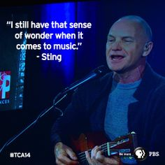 Sting says he believes most musicians are on a sort of spiritual quest