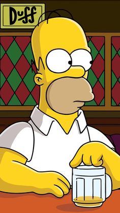 《The Simpsons / Homer Simpson》 Simpson Wallpaper Iphone, Cartoon Wallpaper, The Simpsons, Simpsons Drawings, Futurama, Funny Cartoons, Cute Wallpapers, Wallpaper Wallpapers