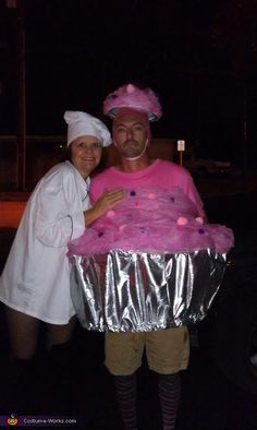Mr. Cupcake & Cook Chef - creative costume idea