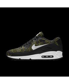 quality design 18c04 f4ec8 Nike Air Max 90 Mens Em Id Grey Green Black White Shoes Outlet Air Max 90 · Air  Max 90 PremiumCheap ...
