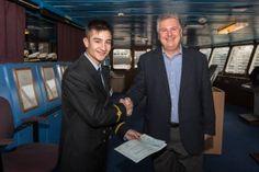 H Celestyal Cruises προσέφερε υποτροφία ενός έτους σε σπουδαστή της Ακαδημίας Εμπορικού Ναυτικού (ΑΕΝ) Σύρου