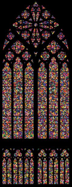 Gerhard Richter, Cathedral Window, Cologne Cathedral, 2007