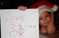 wrong santa