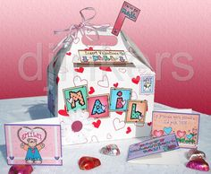 Valentine mailbox sample
