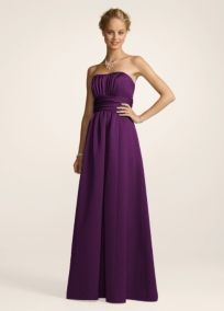 <3 this dress AND the color! Would love it for a bridesmaid in a Fall wedding!