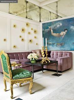La Maison Boheme: If you have the space, go big.