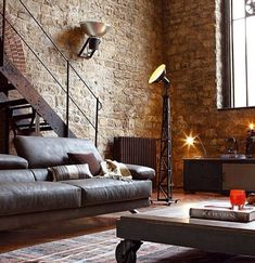 industrial lofts | Industrial Loft Living | Home Decorating