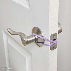 No-Latch (or Hands-Free) Door Trick