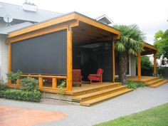 deck roll up screen privacy - Google Search