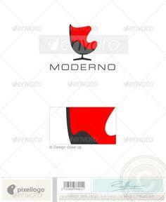 classy chair logo design. Home  Office 414 Logo Design Template Vector logotype Download it here http 6f137a5f5f9f91dfb0d79f7bac270194 jpg 600 552 lolaloca Pinterest