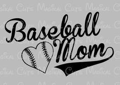 Baseball Mom SVG, Studio, EPS, and JPEG Digital Downloads – Magikal Cuts
