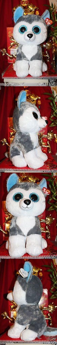 Current 1628: Ty Beanie Boos Jumbo Slush The 16 Husky Dog.2016 Release.Mwnmt.Nice Gift -> BUY IT NOW ONLY: $55 on eBay!