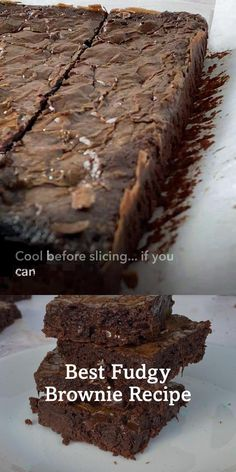 Best Fudgy Brownie Recipe, Brownie Recipes, Cake Mix Recipes, Baking Recipes, Dessert Recipes, Master Chef, Moist Brownies, Brownie Ingredients, Homemade Brownies