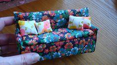 Dollhouse Sofa (mini tutorial)   Flickr - Photo Sharing!