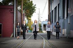Alicia's Bridal Staff - Toni Lynn Photography #groupposing #staffphoto #employeephoto #posing