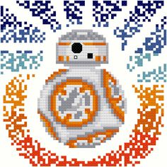Star Wars BB-8 (The Force Awakens) Modern PDF Pattern by FromVtoYou