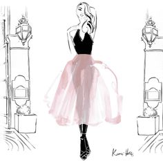 #kerriehessillustration #paris #fashion #love