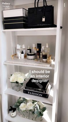 You are in the right place about makeup room ideas diy Here we offer you the most beautiful pictures Room Ideas Bedroom, Home Decor Bedroom, Dream Home Design, Home Interior Design, Glam Room, Aesthetic Room Decor, Beauty Room, Dream Rooms, My New Room