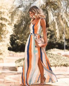Outstanding maxi dresses are offered on our site. Have a look and you wont be sorry you did. Stylish Dresses, Casual Dresses, Casual Outfits, Cute Outfits, Instagram Outfits, Long Summer Dresses, Summer Outfits, Dress Outfits, Fashion Dresses