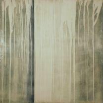 "Morning Dew-2010-33""x33"", encaustic on panel"