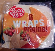 Thriving in Belgium with a Paleo Lifestyle: Read the labels! {Tortilla Wraps}