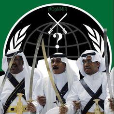 Anonymous hacktivists target Saudi Arabia