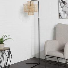Floor Lamps You'll Love in 2020 Bungalow Rose, Black Floor Lamp, Interior, Arc Floor Lamps, Contemporary Floor Lamps, Flooring, Standing Lamp, Lamps Living Room, Floor Lamps Living Room
