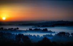 "500px / Photo ""Dawn in the fog"" by Paolo Dari"