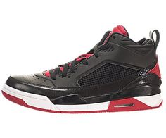 41ab7cca6077 Nike Jordan Men s Jordan Flight 9.5 Black Gym Red White Basketball Shoe  10.5 Men