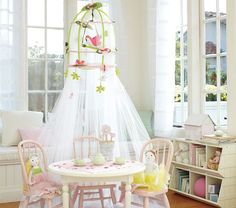 I am sure I could make this birdcage canopy...but I would probably save myself a huge headache just purchasing it.