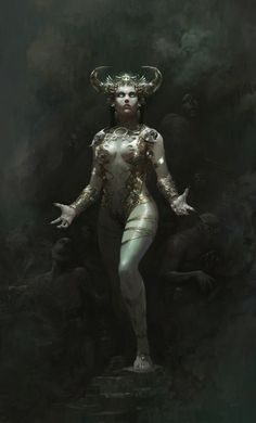 Necromancy by Alejandro Rojas | Illustration | 2D | CGSociety