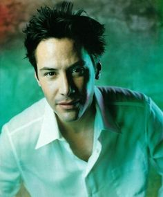 Image result for beautiful keanu reeves with short hair images
