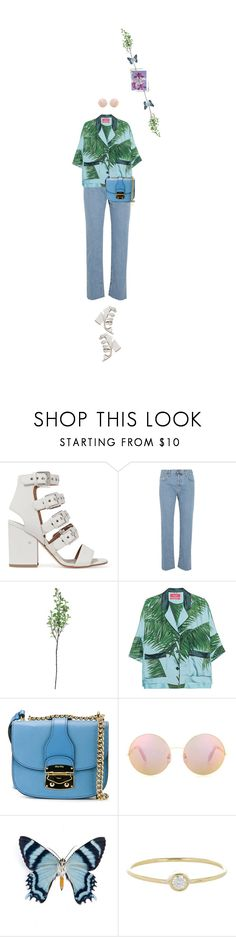 """""""Untitled #1709"""" by maja-z-94 ❤ liked on Polyvore featuring Laurence Dacade, Current/Elliott, Threshold, F.R.S For Restless Sleepers, Miu Miu, Victoria Beckham and Jennifer Meyer Jewelry"""