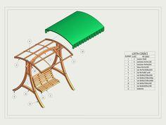 Balancin de madera - Casas de Madera y bungalows en Tarragona   Diseños a medida