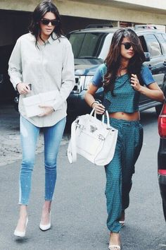 Selena and Kendall Jenner have lunch together