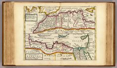 The west part of Barbary containing Fez, Marocco, Algiers and Tunis. By H. Moll Geograp. 1732. The east part of Barbary containing Tripoli, Barca and the north part of Egypt. (Printed and sold by T. Bowles next ye Chapter House in St. Pauls Church yard, & I. Bowles at ye Black Horse in Cornhill, 1736?)