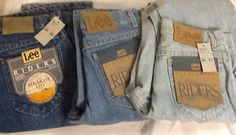 Lee Riders Mens Jeans Straight Leg Size 29/32 or 30/32 or 30/34 Pepper Light or Double Stone #Lee #ClassicStraightLeg