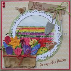 Trijntjes Kaarten: februari 2016 Marianne Design, Diy And Crafts, Daisy, Decorative Plates, Birthdays, Card Making, Joy, Floral, How To Make
