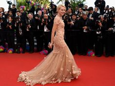 """Naomi Watts - Marchesa  Actress Naomi Watts attends the """"Madagascar 3: Europe's Most Wanted"""" premiere wearing Marchesa during the 65th Annual Cannes Film Festival at Palais des Festivals on May 18, 2012, in Cannes."""